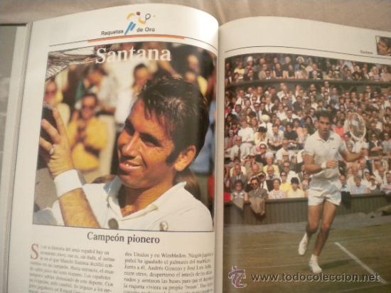 Coleccionismo deportivo: ESTRELLAS DEL DEPORTE NUM. 7 - RAQUETAS DE ORO - GRUPO CORREO 1997 - VER FOTOS - Foto 6 - 32196379