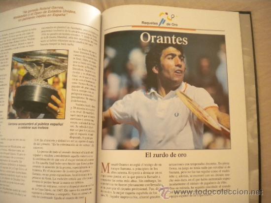 Coleccionismo deportivo: ESTRELLAS DEL DEPORTE NUM. 7 - RAQUETAS DE ORO - GRUPO CORREO 1997 - VER FOTOS - Foto 7 - 32196379