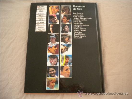 Coleccionismo deportivo: ESTRELLAS DEL DEPORTE NUM. 7 - RAQUETAS DE ORO - GRUPO CORREO 1997 - VER FOTOS - Foto 8 - 32196379