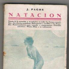 Coleccionismo deportivo: NATACION-J.PAGHE-. Lote 32617438