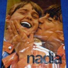 Coleccionismo deportivo: NADIA - BUCURESTU EDITURA SPORT - TURISM - 1977. Lote 32428989