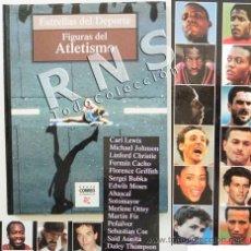 Coleccionismo deportivo: FIGURAS DEL ATLETISMO ESTRELLAS DE DEPORTE - LIBRO FERMÍN CACHO CARL LEWIS ABASCAL MARTÍN FIZ BUBKA. Lote 32449735