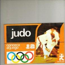 Coleccionismo deportivo: JUDO - CONOZCA EL JUEGO Nº 12 - EDICIONES AURA 1976 - ILUSTRADO - NUEVO DE LIBRERÍA . Lote 32602762