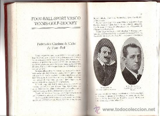 Coleccionismo deportivo: ALBUM DE LAS SOCIEDADES DEPORTIVAS DE BARCELONA 1916 POR EMILIO NAVARRO ILUSTRADO - Foto 14 - 33963883