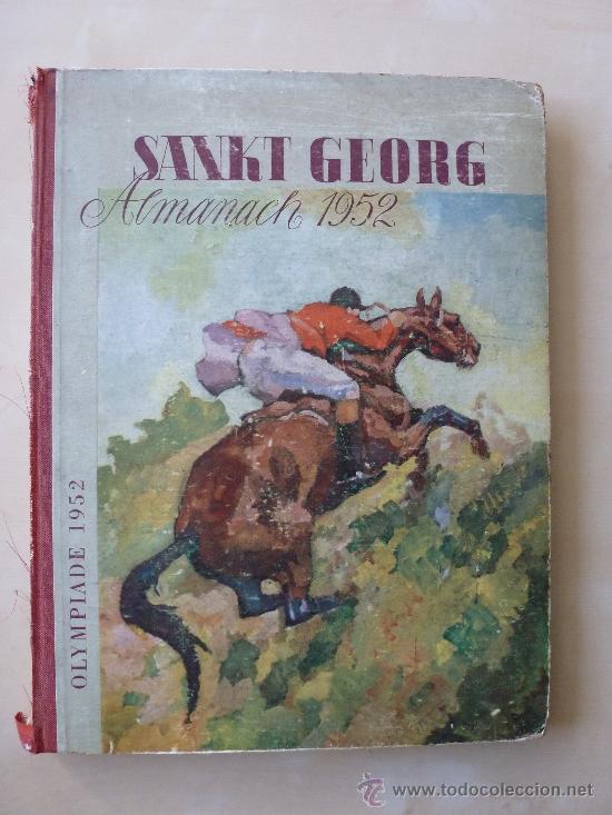 SANK GEORG ALMANACH 1952. OLIMPIADE 1952 (Coleccionismo Deportivo - Libros de Deportes - Otros)