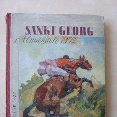 Coleccionismo deportivo: SANK GEORG ALMANACH 1952. OLIMPIADE 1952. Lote 33503250