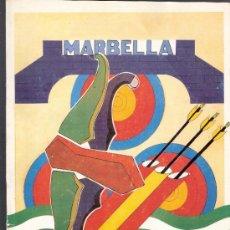 Coleccionismo deportivo: REAL FEDERACION ESPAÑOLA DE TIRO CON ARCO.ANUARIO 1995. MARBELLA.. Lote 33748763