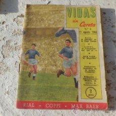Collectionnisme sportif: LIBRO REVISTA VIDAS SI CARETA Nº 2 1955. Lote 33818206