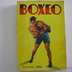 Coleccionismo deportivo: LIBRO BOXEO DE ISIDRO CORBINOS. ED. SINTES. 4ª EDICION. 1965. Lote 34548113