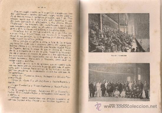 Coleccionismo deportivo: Club vasconia. Pelota vasca / E. Escudero. BCN, 1942. 19x13cm. 149 p. - Foto 4 - 34889527