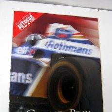 Coleccionismo deportivo: F1 - GRAND PRIX 1996 - FASCICULO DE REGALO DE AUTOCAR - 6 MARZO 1996. Lote 35470734