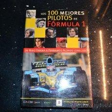 Coleccionismo deportivo: LOS 100 MEJORES PILOTOS DE FORMULA 1. Lote 36519807
