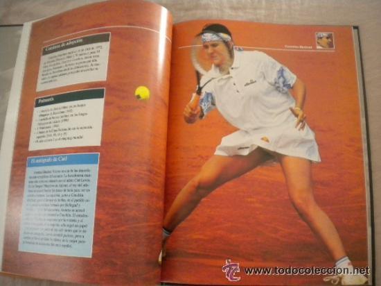 Coleccionismo deportivo: 1 LIBRO TENIS - ESTRELLAS DEL DEPORTE. RAQUETAS DE ORO GRUPO CORREO - PLANETA DE AGOSTINI 1997 - Foto 9 - 36596891