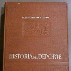 Coleccionismo deportivo: HISTORIA DEL DEPORTE (DE FABRICIO VALSERRA) PLUS ULTRA (1944) MÁS DE 100 ILUSTRACIONES. RAREZA!!. Lote 36808221