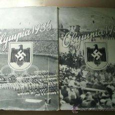 Coleccionismo deportivo: OLYMPIA 1936 (2 VOLÚMENES). Lote 37179299