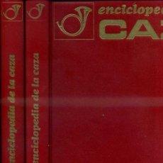 Coleccionismo deportivo: ENCICLOPEDIA DE LA CAZA - DOS TOMOS GRAN FORMATO (VERGARA, 1969). Lote 37313993