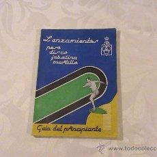 Coleccionismo deportivo - Lanzamientos peso disco jabalina martillo guía del principiante. - 37257301