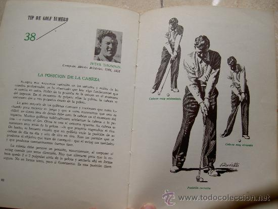 Coleccionismo deportivo: 52 TIPS DE GOLF. COMPAÑIA EDITORIAL CONTINENTAL. CECSA. HERBERT WARREN WIND. LIM - Foto 2 - 184396253