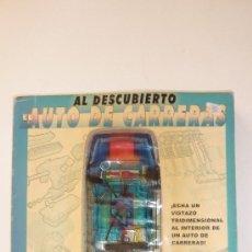 Coleccionismo deportivo: EL AUTO DE CARRERAS AL DESCUBIERTO. MAQUETA - LIBRO TRIDIMENSIONAL . PAUL BECK. 2002. COCHE CARRERAS. Lote 37757201