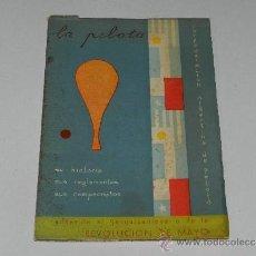 Coleccionismo deportivo: (M-3.7) PELOTA VASCA - LA PELOTA, CONFEDERACION ARGENTINA DE PELOTA 1960, DEDICATORIA A MANUEL BALET. Lote 37901844
