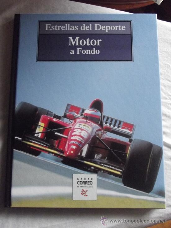 ESTRELLAS DEL DEPORTE - MOTOR A FONDO (Coleccionismo Deportivo - Libros de Deportes - Otros)