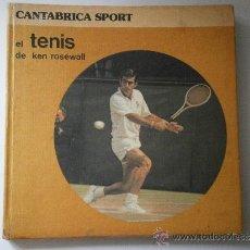 Coleccionismo deportivo: EL TENIS DE KEN ROSEWALL CANTABRICA SPORT 1982. Lote 38620605