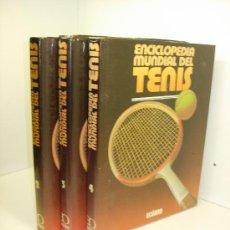 Coleccionismo deportivo: ENCICLOPEDIA MUNDIAL DEL TENIS,TOMOS 2-4 TAMBIÉN SUELTOS ED. OCEANO 1983. Lote 39910227