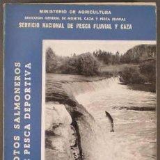 Coleccionismo deportivo: COTOS SALMONEROS DE PESCA DEPORTIVA. FOLLETO INFORMATIVO Nº 3 (TEMAS PISCÍCOLAS).. Lote 39639077