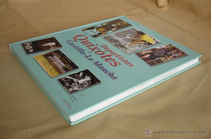 Coleccionismo deportivo: DEPORTISTAS QUIXOTES DE CASTILLA-LA MANCHA. - Foto 3 - 39802918