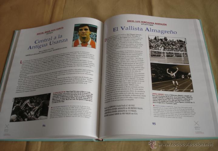 Coleccionismo deportivo: DEPORTISTAS QUIXOTES DE CASTILLA-LA MANCHA. - Foto 4 - 39802918