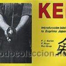 Collezionismo sportivo: KEN INTRODUCCION BASICA A LA ESGRIMA JAPONESA IAIDO KENDO KATANA. Lote 39896415