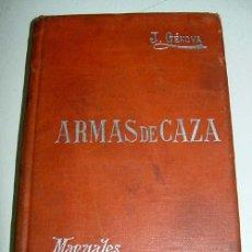 Coleccionismo deportivo: ARMAS DE CAZA - GÉNOVA É Y., J - CAZA - ARMAMENTO - DEPORTES - JUEGOS BARCELONA. - SUCESORES DE MALE. Lote 38242957