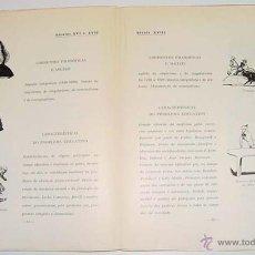 Coleccionismo deportivo: TRATADO DE EDUCAÇAO FISICA FASCICULO 1 – CELESTINO FELICIANO MARQUEZ PEREIRA – LISBOA 1951 – 1/48 P. Lote 38243364