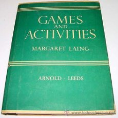 Coleccionismo deportivo: GAMES AND ACTIVITIES FOR INFANTS – MARGARET LAING – E. J. ARNOLD AND SONS LTD, GLASGOW - 1930 – 80 P. Lote 38243366