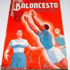 Coleccionismo deportivo: BALONCESTO – GEORGE GLADMAN - LIBRERÍA SINTES 1943- 143 PÁG. Lote 38243373