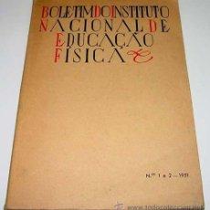 Coleccionismo deportivo: BOLETÍM DO INSTITUTO NACIONAL DE EDUCAÇAO FÍSICA – MARIO GONGALVES VIANA – INSTITUTO NACIONAL EDUCAÇ. Lote 38243463