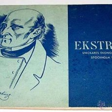 Coleccionismo deportivo: EKSTRANDS- SPECIALKATALO OVER GYMNASTIKATIRALJ – CÁTALOGO – LILJEHOLMEN, ESTOCOLMO 1939 - ENTRENAMIE. Lote 38243480