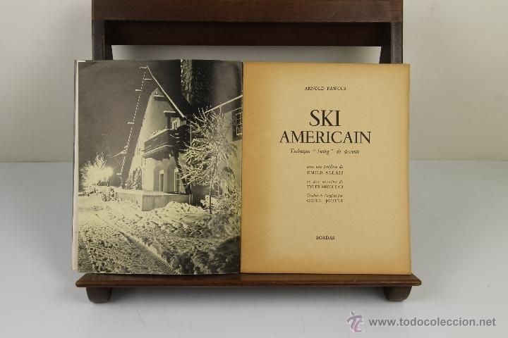 4081- SKI AMERICAN. ARNOLD FAWCUS. EDIT. BORDAS. 1947. (Coleccionismo Deportivo - Libros de Deportes - Otros)