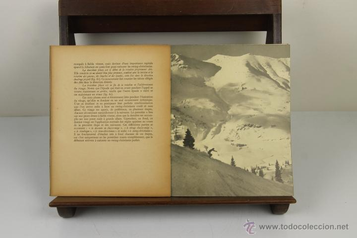 Coleccionismo deportivo: 4081- SKI AMERICAN. ARNOLD FAWCUS. EDIT. BORDAS. 1947. - Foto 2 - 40317974