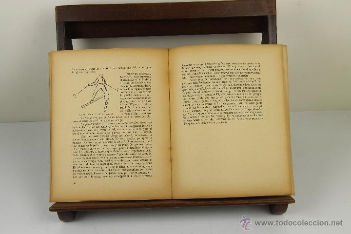 Coleccionismo deportivo: 4081- SKI AMERICAN. ARNOLD FAWCUS. EDIT. BORDAS. 1947. - Foto 3 - 40317974