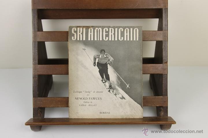 Coleccionismo deportivo: 4081- SKI AMERICAN. ARNOLD FAWCUS. EDIT. BORDAS. 1947. - Foto 4 - 40317974