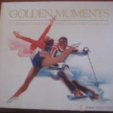 Collectionnisme sportif: PRECIOSO LIBRO DE LAS OLIMPIADAS DE ESTADOS UNIDOS AÑO 1984 - GOLDEN MOMENTS -. Lote 41370588