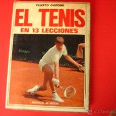 Coleccionismo deportivo - EL TENIS EN 13 LECCIONES FAUSTO GARDINI - 41704828