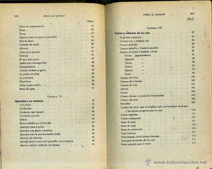 Coleccionismo deportivo: JUAN ROIG : LA PESCA AL LANZADO -MAR Y RIO (SERRAHIMA Y URPI, 1945) - Foto 2 - 31186628