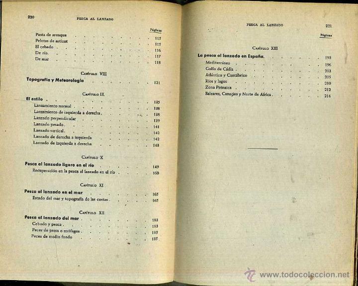 Coleccionismo deportivo: JUAN ROIG : LA PESCA AL LANZADO -MAR Y RIO (SERRAHIMA Y URPI, 1945) - Foto 4 - 31186628
