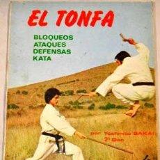 Colecionismo desportivo: EL TONFA: BLOQUEOS, ATAQUES, DEFENSA, KATA, POR YOSHIHITO SAKAY. ARTES MARCIALES. 111 FOTOS. Lote 210351465