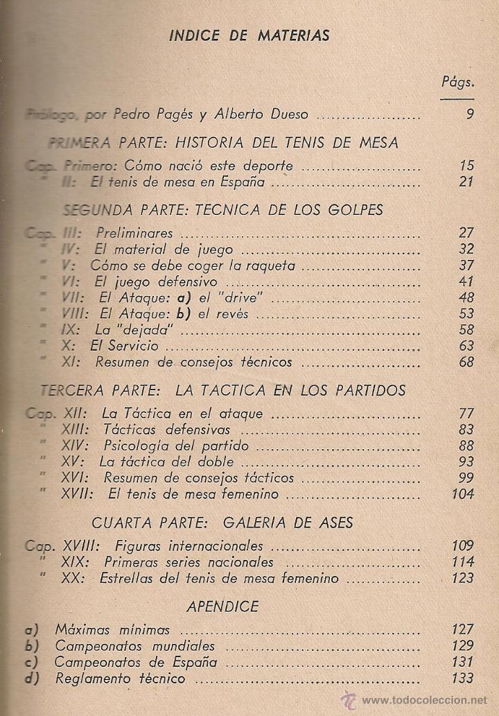 Coleccionismo deportivo: El tenis de mesa, su historia, tecnica y tactica. Galeria de ases / F. Fornells. Ping pong - Foto 2 - 42598965