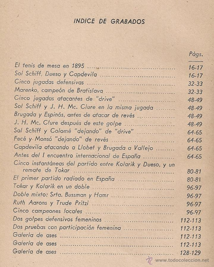 Coleccionismo deportivo: El tenis de mesa, su historia, tecnica y tactica. Galeria de ases / F. Fornells. Ping pong - Foto 3 - 42598965
