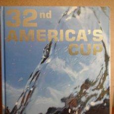 Coleccionismo deportivo: LIBRO OFICIAL - 32 ND AMERICA'S CUP.( 32 COPA AMÉRICA ) COMPLETAMENTE NUEVO. Lote 42746042