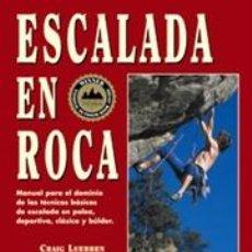 Coleccionismo deportivo - Montaña. ESCALADA EN ROCA - Craig Luebben - 43418326
